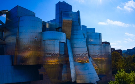 weisman art museum in minneapolis: view of the weisman art museum in minneapolis, minnesota