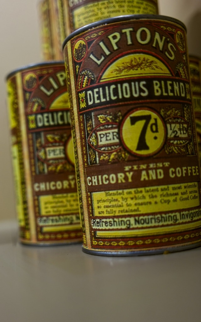 lipton coffee cans of the past